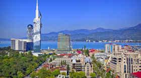 Turista nella città Batumi – Stato Georgia – Ecco cosa visitare