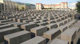 Memoriale per gli ebrei assassinati d'Europa di Berlino – i monumenti di Berlino