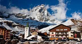 Breuil Cervinia la meta ideale per chi non sa rinunciare alla neve neanche in estate